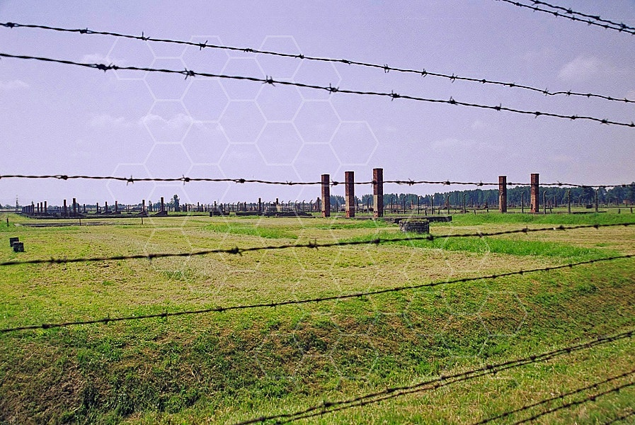 Birkenau Camp Barracks 0014
