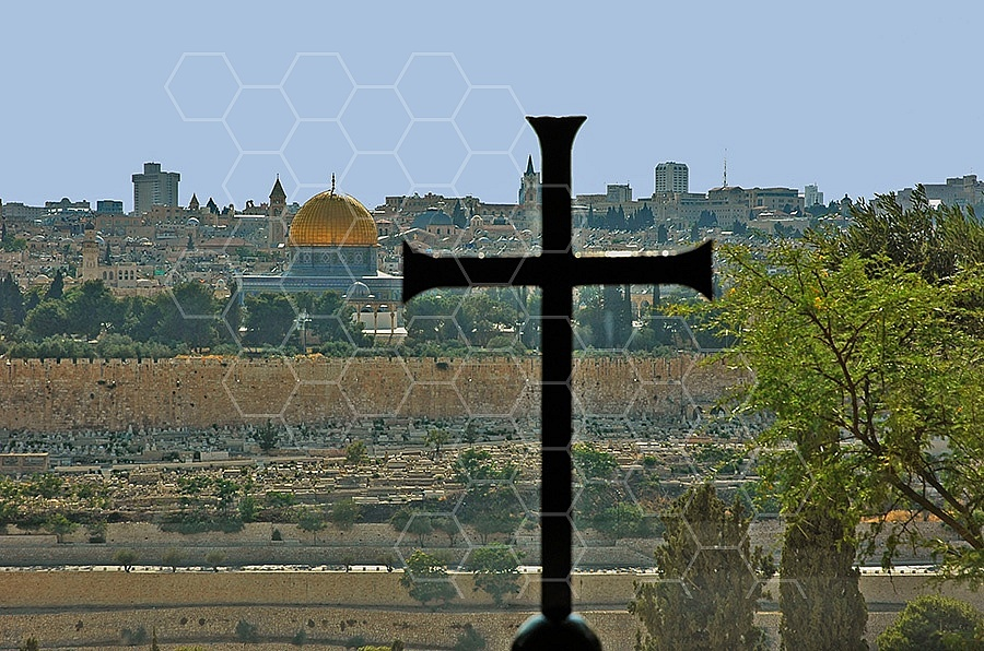 Jerusalem From Mount Of Olives 003