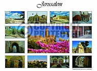 Jerusalem Photo Collages 005