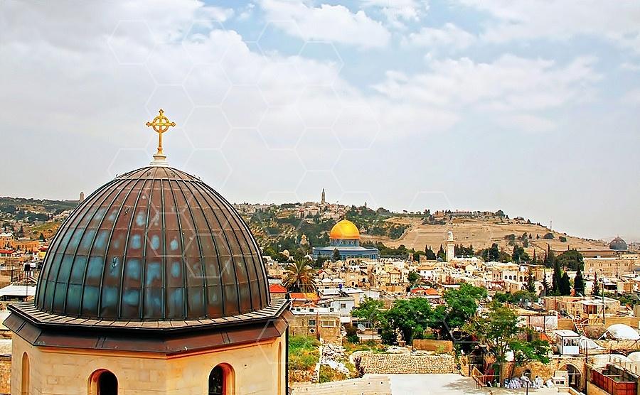 Jerusalem Old City View 002