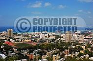 Haifa City View and Sea Port 0003