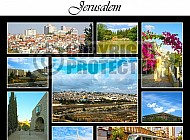 Jerusalem Photo Collages 008