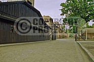 Auschwitz Camp Gates 0012