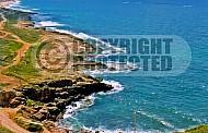Achziv Aerial View 001