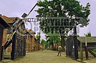 Auschwitz Camp Gates 0002