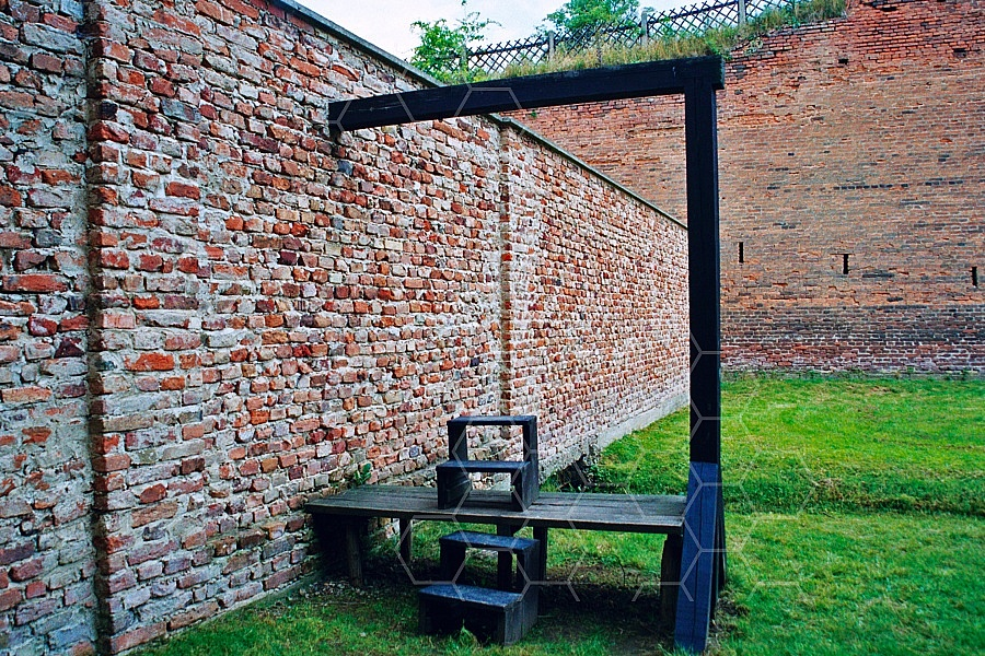Terezin Gallows for Executions 0003