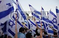 Israel Flag 020
