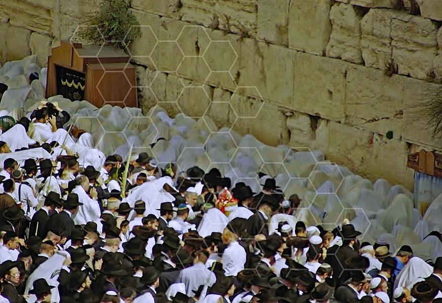 Kotel Priestly Blessing Birkat Kohanim 0014