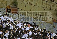 Kotel Priestly Blessing Birkat Kohanim 0014