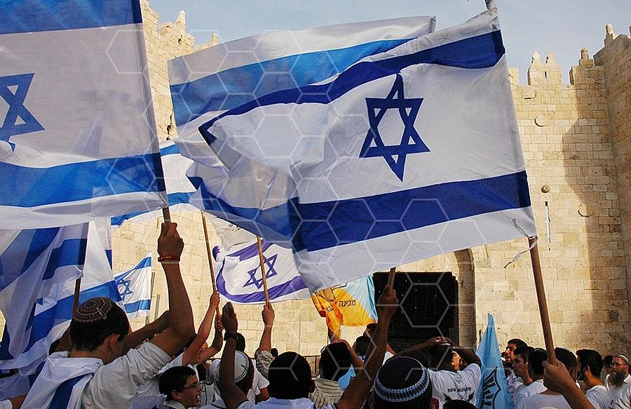 Israel Flag 030