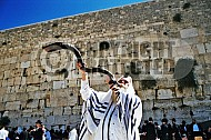 Kotel Blowing The Shofarf 022
