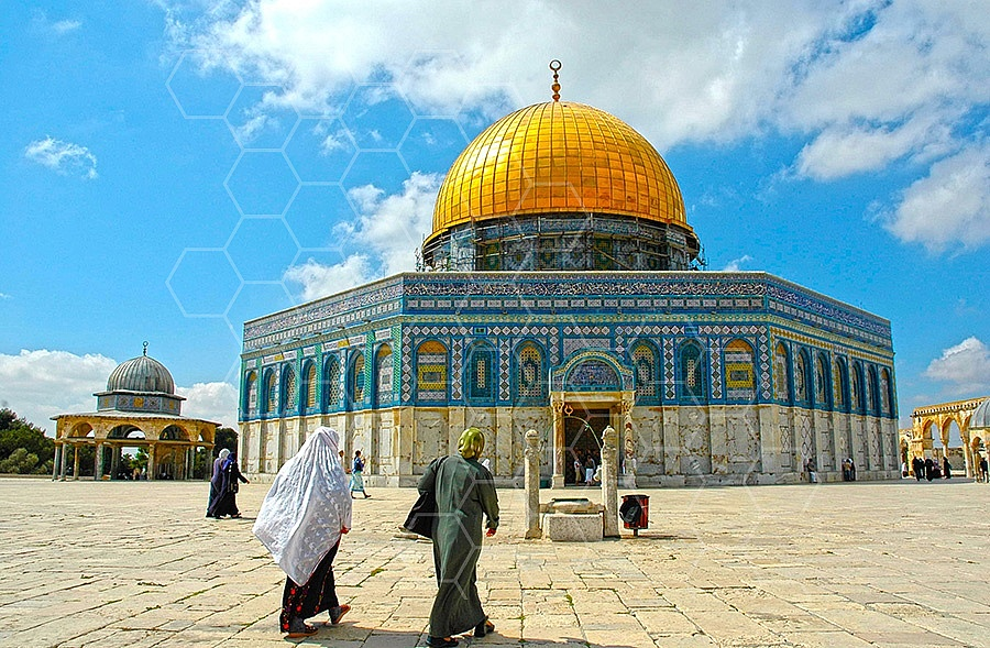 Jerusalem Old City Dome Of The Rock 017