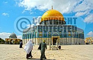 Jerusalem Old City Dome Of The Rock 017