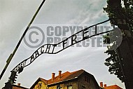 Auschwitz Camp Gates 0010