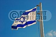 Israel Flag 031