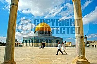 Jerusalem Old City Dome Of The Rock 020