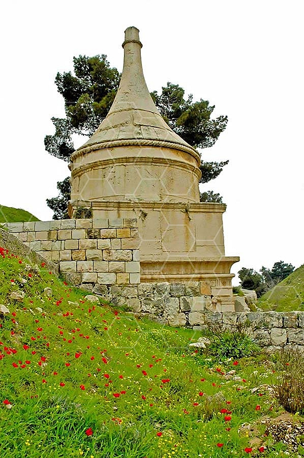 Jerusalem Absalom Tomb 011