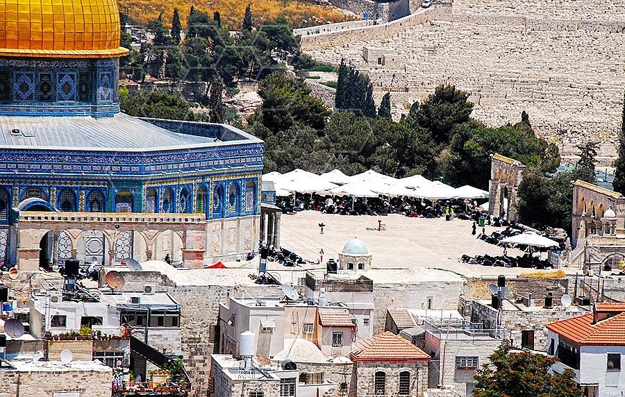 Jerusalem Old City Dome Of The Rock 006