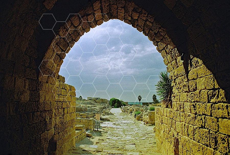 Caesarea Fortress Entrance 004