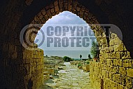Caesarea Fortress Entrance 004