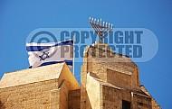 Israel Flag 049