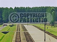 Birkenau Unloading Area at Main Gate 0023