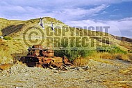 Golan Heights Syrian Tank 0001