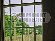 Buchenwald Barbed Wire Fence and Watchtower 0006