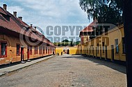 Terezin Courtyard and Entrance Gate 0002