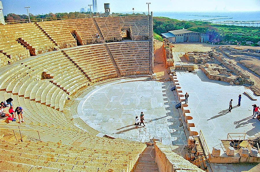 Caesarea The Roman Theatre 002