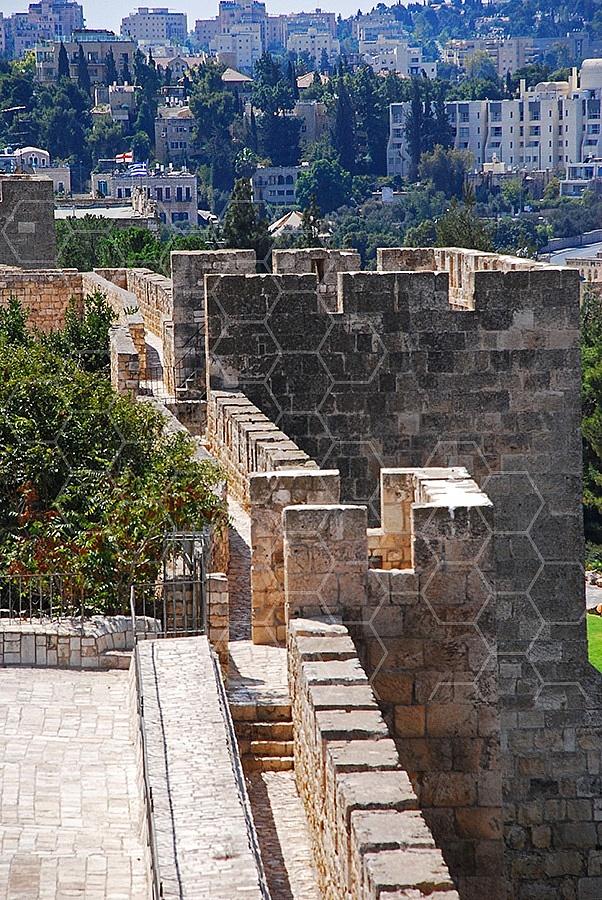 Jerusalem Old City Walls 032