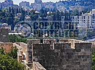 Jerusalem Old City  Walls 032