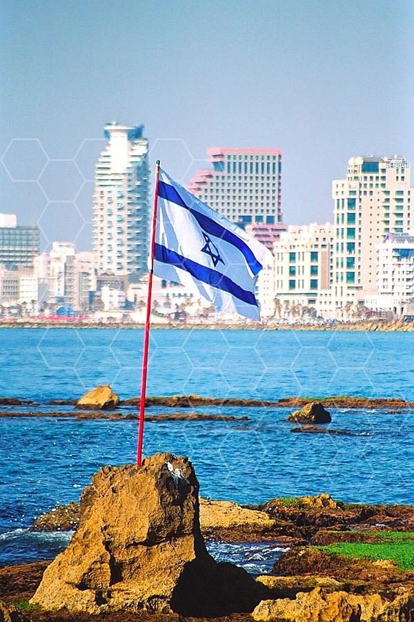 Israel Flag 070