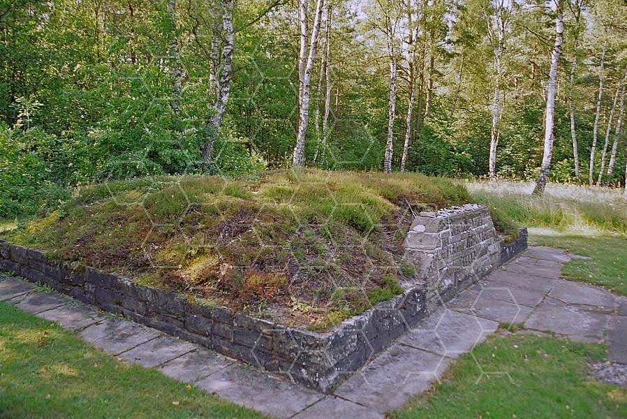 Bergen Belsen Memorial for Barracks 0009