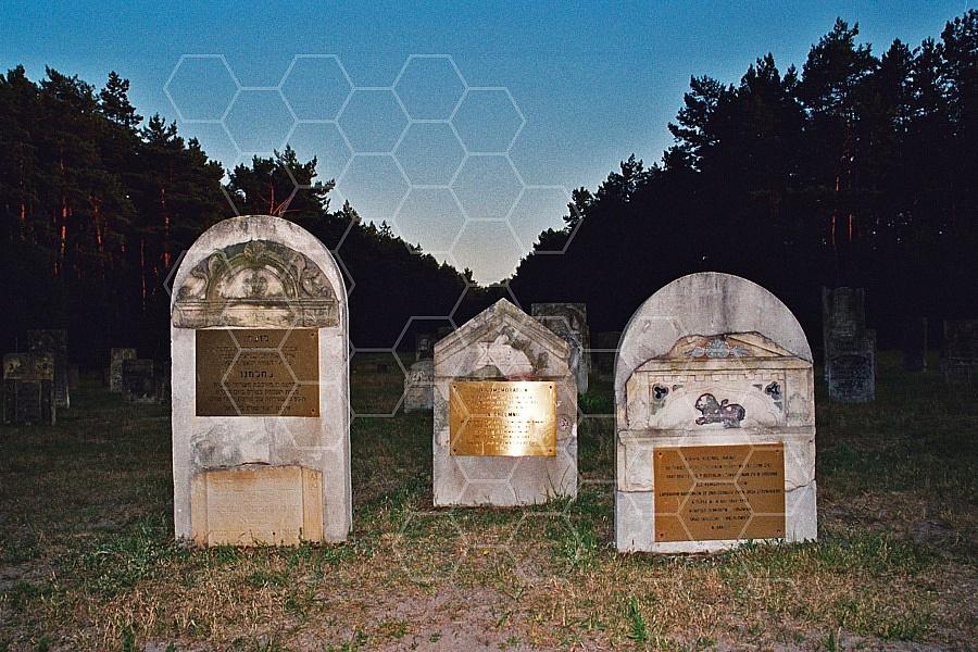 Chelmno Jewish Memorials in the Cemetery 0009