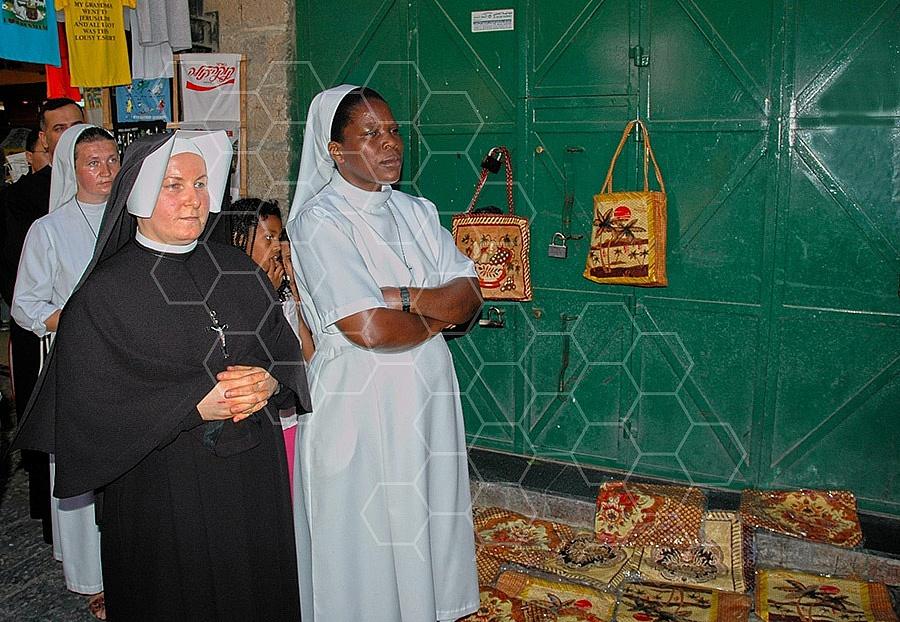 Jerusalem Via Dolorosa Station 8 - 014