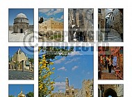 Jerusalem Photo Collages 027