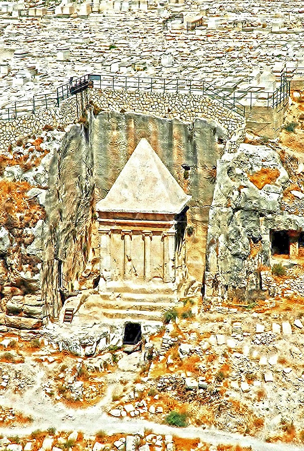 Jerusalem Tomb Of Zecharia 002