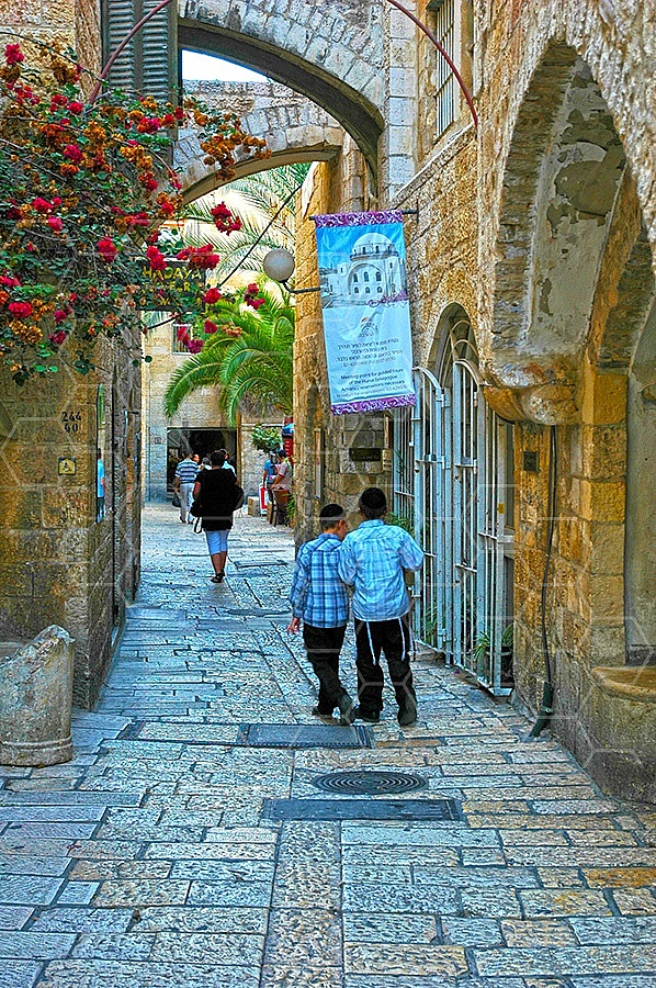 Jerusalem Old City Jewish Quarter 041