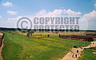 Birkenau Camp Barracks 0003