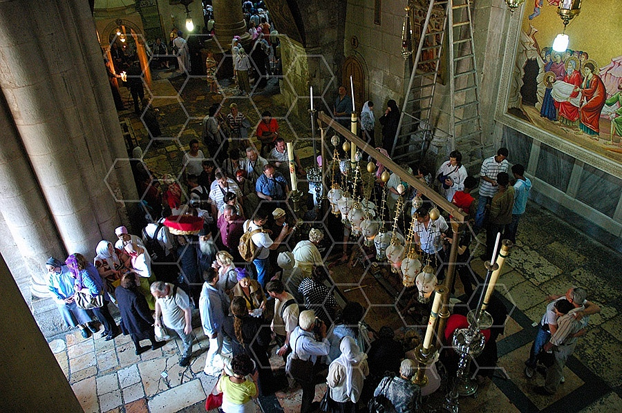 Jerusalem Holy Sepulchre Stone Of Anointing 027