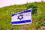 Israel Flag 004