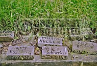 Bergen Belsen Memorial with Inmates Names 0002
