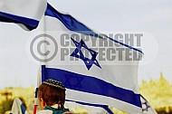Israel Flag 015