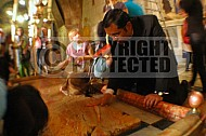 Jerusalem Holy Sepulchre Stone Of Anointing 003