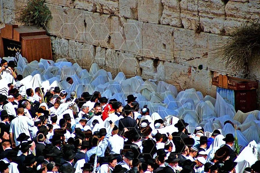 Kotel Priestly Blessing Birkat Kohanim 0002