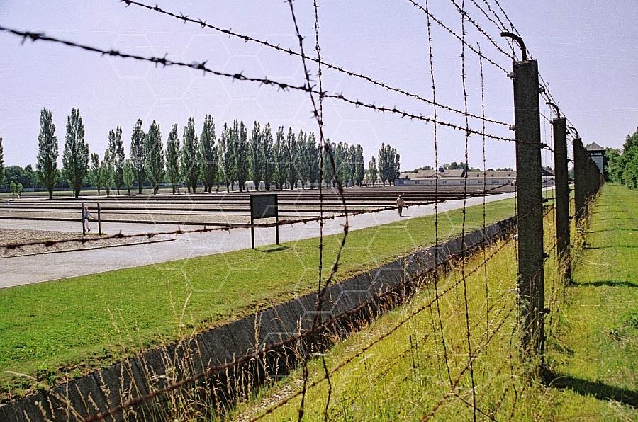 Dachau Barbed Wire Fence 0010