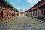 Terezin Courtyard and Cells 0002