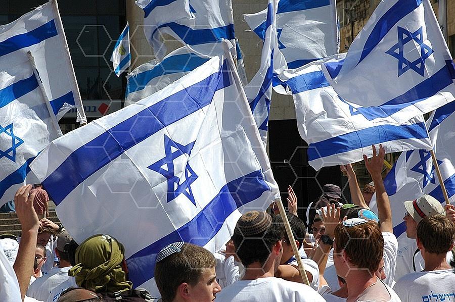 Israel Flag 040