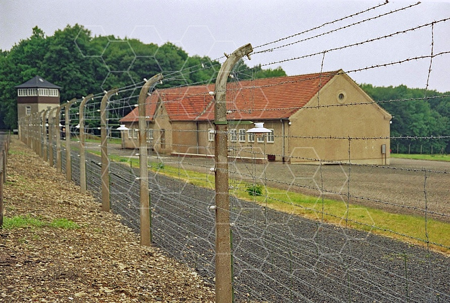 Buchenwald Barbed Wire Fence and Watchtower 0001